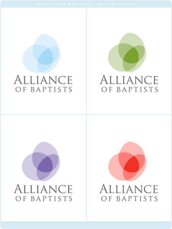 Alliance of Baptists Logo Final Variations