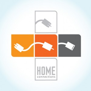Alternative Comps of the Home Connections Logo