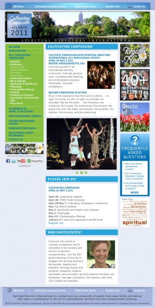 SDI Events Drupal Site Template