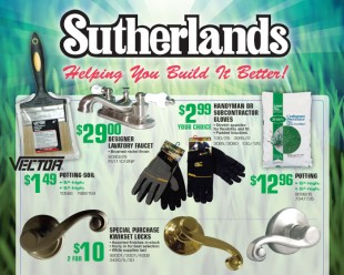 Sutherland's Catalog New Front Cover Design