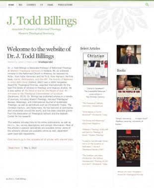 J Todd Billings