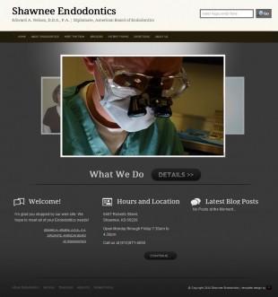 Shawnee Endodontics Web Site Design